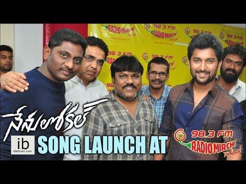 Nenu Local song launch at Radio Mirchi 98.3 FM