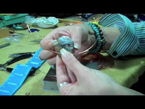 Shark Tooth Wire Wrap Tutorial