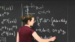 Potentials Of Gradient Fields | MIT 18.02SC Multivariable Calculus, Fall 2010