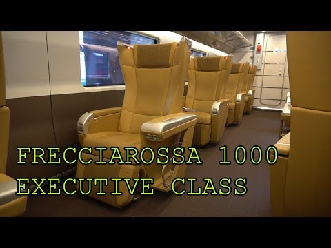 Frecciarossa 1000 Executive Class | Europe's Best Train? | Trip Report