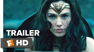 Wonder Woman Official ComicCon Trailer 2017  Gal Gadot Movie