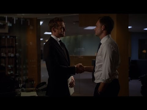Mike takes Harvey's legendary office | Suits 6x16