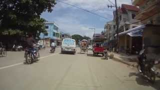 Tachileik Myanmar  city images : Bogyoke Aung San Road on Bike. Tachileik - Myanmar