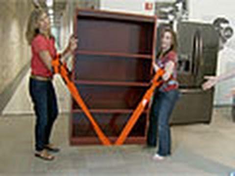 Видео Телемагазин - для дома Bradex Ремни для перемещения мебели