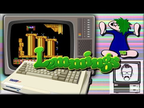Lemmings! Sam Coupe [Quick Play] | Nostalgia Nerd