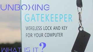Hey guys in this video I am unboxing GateKeeper 2.0 which is a device that helps to lock and unlock your Windows and Mac computer without using the password.Tired of typing your password every time you login into your computer? Gatekeeper safely stores your password and will automatically manage computer access through a seamless, high performance Bluetooth 4.0 connectivity. I am also planning to do the full review of this device. So stay tuned for the full review video. Visit this website to know more about the device.https://www.gkchain.com/Please do like and share if you enjoy watching this and Subscribe for more upcoming videos.Love my videos? Every single countsDonate me - https://www.paypal.com/cgi-bin/webscr?cmd=_s-xclick&hosted_button_id=HCWCQZWURV7NLFor business enquiries - ashangharsh@gmail.comCONNECT WITH ME-Facebook -https://www.facebook.com/asangam.androidInstagram - https://www.instagram.com/the_asangamTwitter -   https://www.twitter.com/the_asangamMusic Used Title: Spring In My StepArtist: Silent PartnerGenre: PopMood: Happy