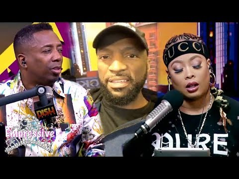 Rickey Smiley, Da Brat, Gary With the Tea...almost get FIRED on Air! (видео)