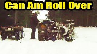 8. Can Am Outlander 400 ATV Roll Over