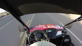 9. Honda PIONEER 500 - STREET LEGAL - first cruise (Vid #42)