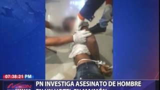PN investiga asesinato de hombre en hotel de Maimón