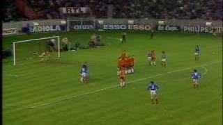 WM 1978: Michel Platinis Freistoß gegen die Niederlande