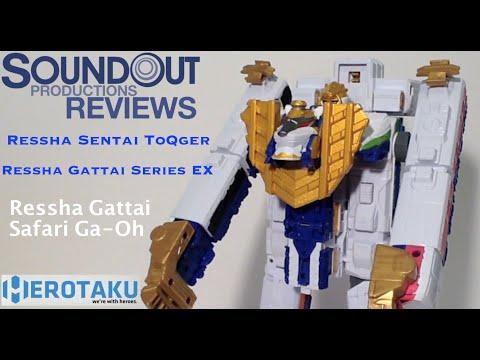Ressha Sentai ToQger - DX Ressha Gattai Safari Ga-Oh Review