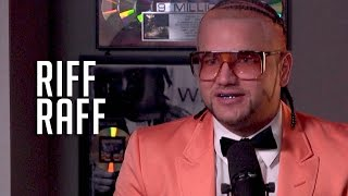 Hot 97 - Riff Raff talks Wrestling, Wanting to Collab w/ Lady Gaga + What Katy Perry Smells Like
