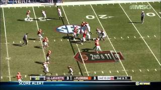 Dominique Easley vs Louisiana-Lafayette (2012)