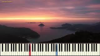 River Flows In You - Yiruma (instrumental) (Ноты и Видеоурок для фортепиано) (piano cover)