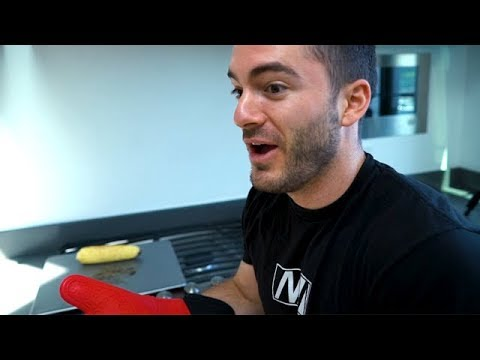 Jardon Tries Not To Burn His Hand Off