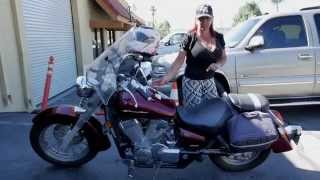 5. Honda Shadow Aero VT750 Hard Leather Motorcycle Saddlebags Review - vikingbags.com
