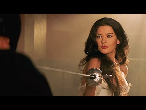 Elena vs Zorro Sword Fight Scene | The Mask of Zorro [1998]