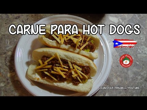 CARNE MOLIDA PARA HOT DOGS