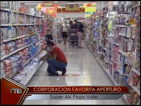 Corporación Favorita aperturó Super Aki Plaza Valle