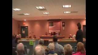 New Windsor (NY) United States  city images : Protest at New Windsor, New York, Town Board Meeting