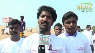 Aadhava at Road Safety Helmet Awareness Rally