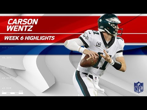 Video: Carson Wentz's Triple TD Night vs. Carolina! | Eagles vs. Panthers | Wk 6 Player Highlights