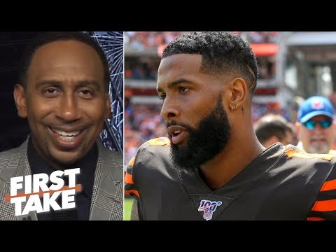 Video: Stephen A. isn't fazed by OBJ's watch: We've seen everything but winning! | First Take