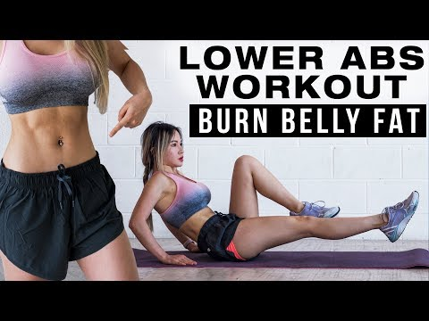 10 Min Lower Abs Workout | Burn Lower Belly Fat | Free Flat Belly Program