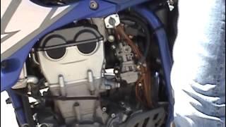 7. CC28 2004 Yamaha YZ450F Engine Run