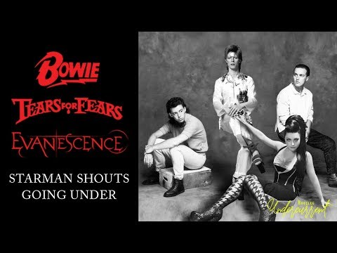 David Bowie vs. Tears For Fears vs. Evanescence - Starman Shouts Going Under