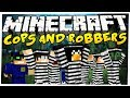 Minecraft: COPS AND ROBBERS - CZY WKONCU UCIEKNIEMY? [#4]
