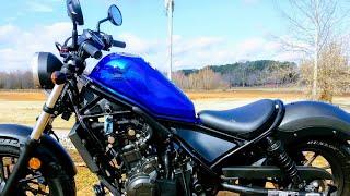 3. 2018 Honda  Rebel 500 first ride impressions