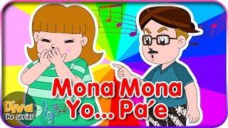 Download Lagu Mona Mona Yo Pa'e (Johny Johny Yes Papa versi Jawa ) | Diva bernyanyi | Diva The Series Official Mp3