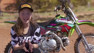 7. MXTV Bike Review - 2019 KAWASAKI KLX 110