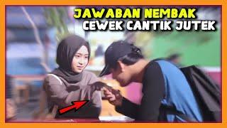 Video Bikin Baper !! JAWABAN PRANK NEMBAK WANITA CANTIK SUPER JUTEK GAK DIKENAL PART 2 - Prank Indonesia MP3, 3GP, MP4, WEBM, AVI, FLV Maret 2019