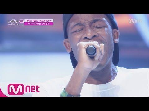 Black exchange student Joseph Busto from Ohio sings on a korean show