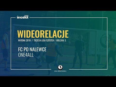 LIGA BEMOWSKA / WIOSNA 2018 / KOLEJKA 3. / FC PO NALEWCE - ONE4ALL