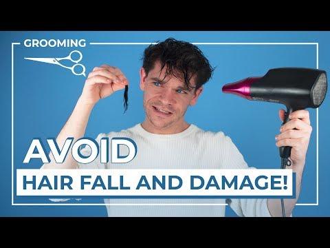 Mens hairstyles - Do Hair Dryers Damage Your Hair?  Men's Hair