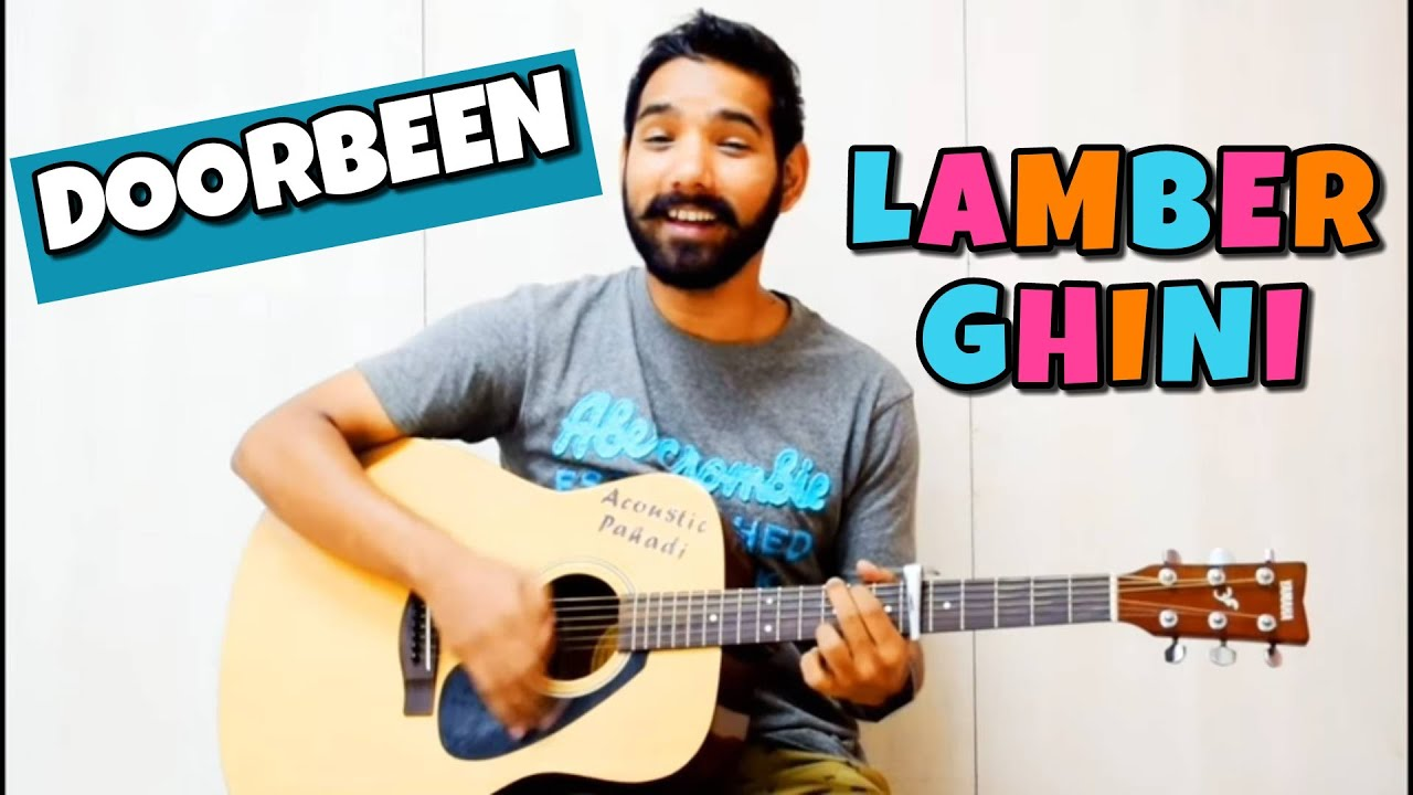 Lamberghini Guitar Chords Lesson by | Acoustic Pahadi |