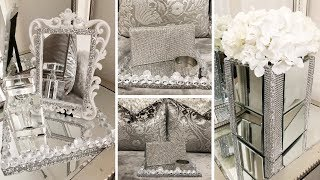 DIY Home Decor 2019 | Dollar Tree DIY Glam & Mirror Decor