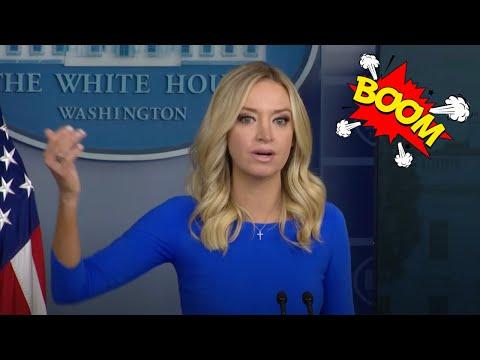 BLISTERING EXCHANGE: Press Secretary McEnany SHUTS DOWN The Liberal Media at Press Briefing