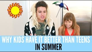 "Why Kids Have It Better Than Teens In Summer  Brent RiveraIf you're new here, don't forget to subscribe for weekly videos! Give this video a Thumbs Up if you enjoyed watching this video :) Hang out with me on Social Media:SnapChat, Add me: TheBrentRiveraInstagram: @BrentRiveraTwitter: @BrentRiveraVine: @BrentRiveraFacebook: @BrentRiveraNicolette's Instagram: @nica_dancer_wcI have all rights to use this audio in this video according to Final Cut Pro's/YouTube's ""terms of use."""