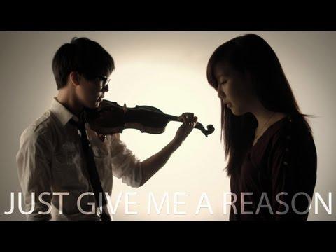 P!nk - Just Give Me A Reason ft. Nate Ruess - Jun Sung Ahn Violin Cover ft. Sarah Park