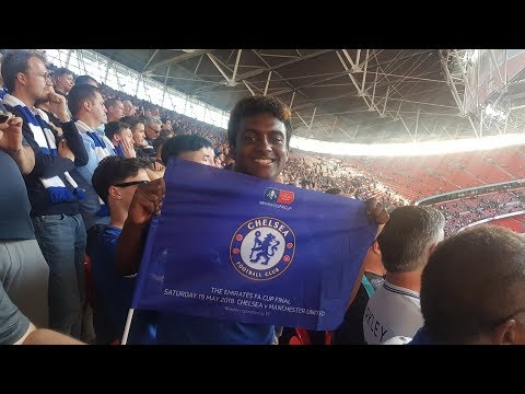 FA CUP FINAL VLOG || CHELSEA 1-0 MANCHESTER UNITED || MATCHDAYS WITH LEWIS