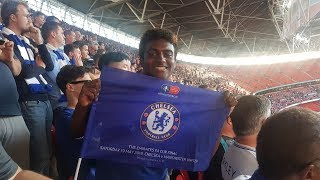 Video FA CUP FINAL VLOG || CHELSEA 1-0 MANCHESTER UNITED || MATCHDAYS WITH LEWIS MP3, 3GP, MP4, WEBM, AVI, FLV Mei 2018
