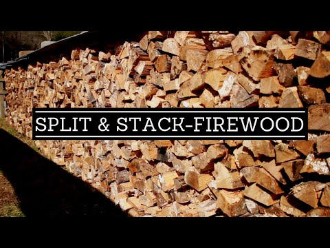 The Best Way To Split And Stack Firewood: A Beginners Guide