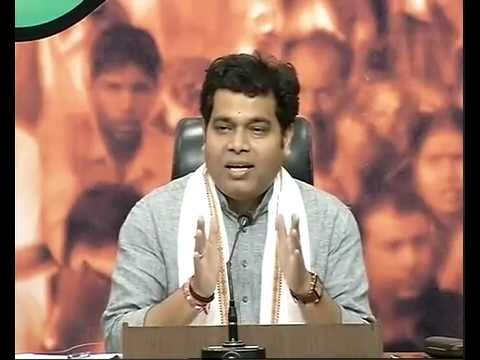 Press Conference by Pt. Shrikant Sharma at BJP HQ : 28.5.2016