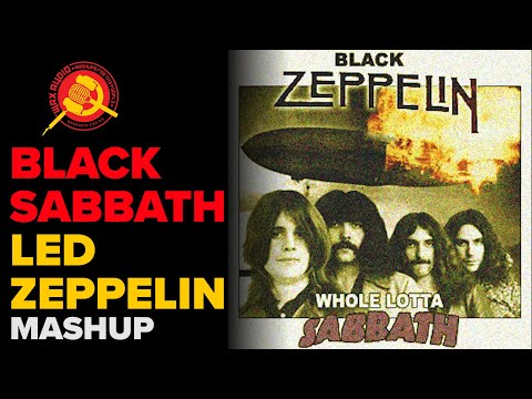 A WHOLE LOTTA SABBATH.... A kick ass Mashup
