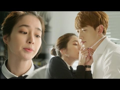 Jung Ji Hoon & Lee Min Jung, Heart Bursting Tapeline Skinship!|《Come Back Mister》 돌아와요 아저씨 EP06